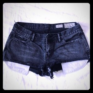 All Saints Lowe Shorts Black Denim size 30